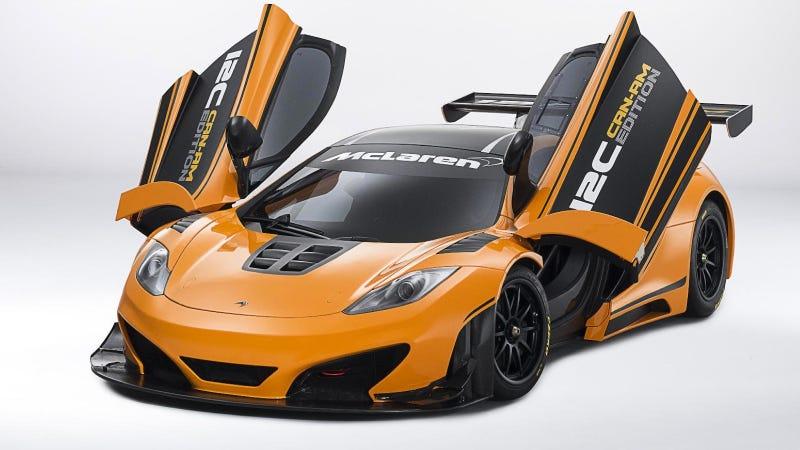 Illustration for article titled McLaren 12C Can-Am Concept: Let's Race