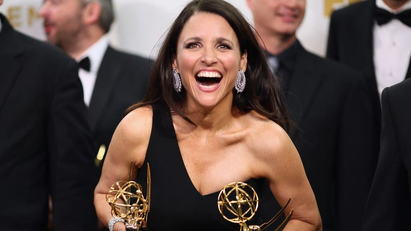 Illustration for article titled Julia Louis-Dreyfus is this year's recipient of the Mark Twain Prize for American Humor