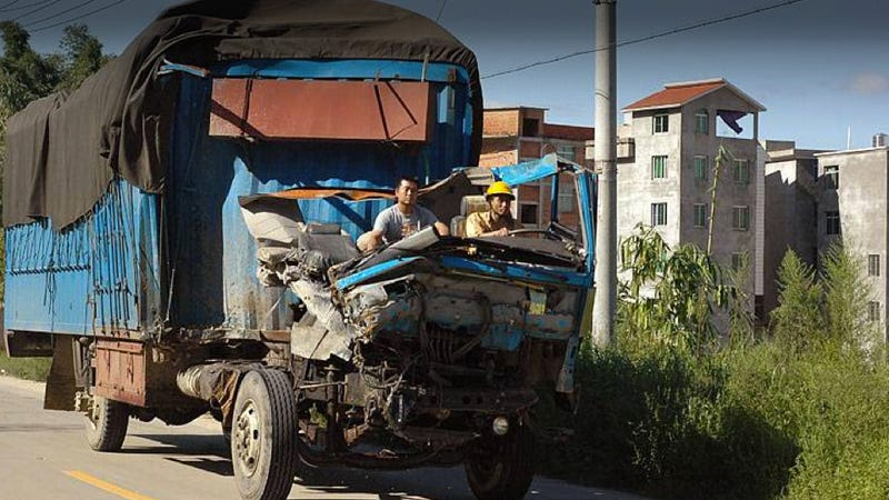 Illustration for article titled Is This Chinese Truck Indestructible?