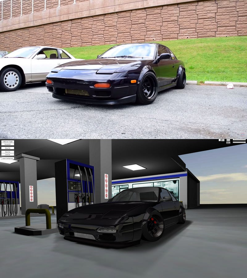 Illustration for article titled Recreating the RCR 240SX