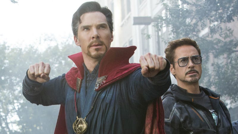 Strange and Stark are the favorite ship of the Infinity War filmmakers. Kind of.