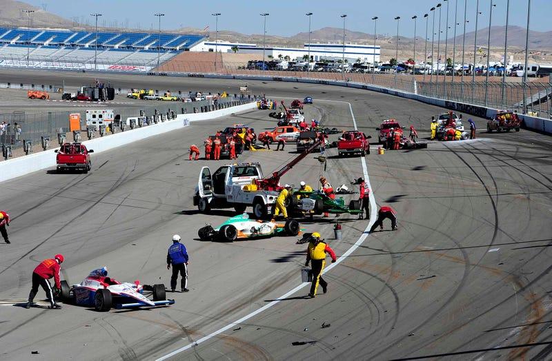 Illustration for article titled Making IndyCar Racing Safer