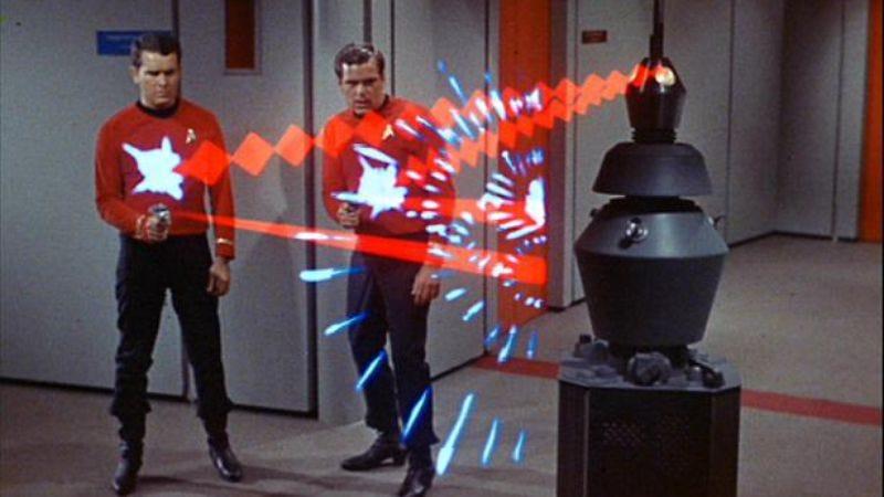 "Screenshot: Star Trek ""The Changeling"""