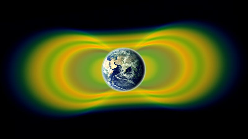 "Illustration for article titled NASA: ""We've discovered a previously unknown surprise circling Earth"""