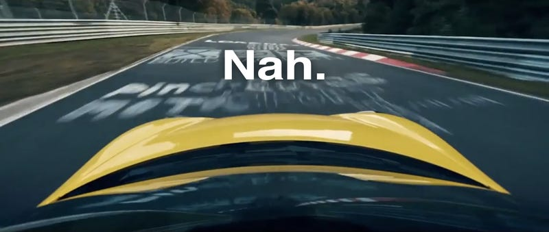 Illustration for article titled Nürburgring Truther Believes Porsche Faked Cayman GT4 Ring Video