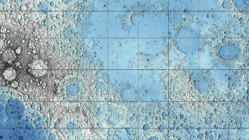 These Are Easily The Most Gorgeous Maps Of The Moon Ever