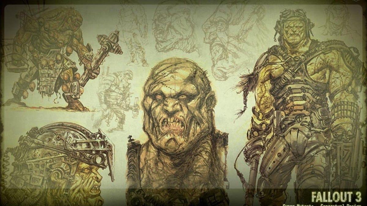 adam adamowicz s incredible post apocalyptic fallout 3 concept art