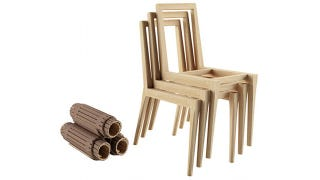 Illustration for article titled There Are Easier Ways to Stack Chairs, But Come On: These Are Awesome