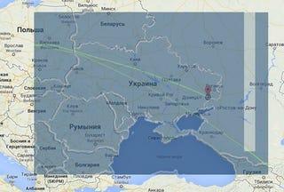 Illustration for article titled 11 különös kérdés a Kelet-Ukrajnában lelőtt Boeing 777-esről