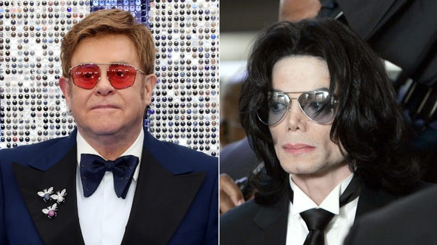 """Elton John's memoir details lunch with Michael Jackson: """"It was stranger than I could have imagined"""""""