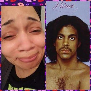 Prince fan Meeka Late; PrinceGoFundMe