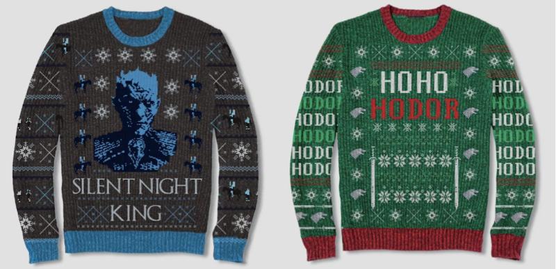 Estos jerseys de Juego de Tronos le darán a tus Navidades un toque de muerte y destrucción.