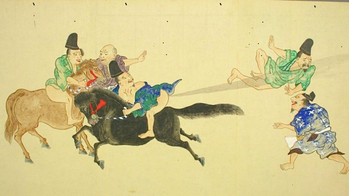 Japanese Fart Scrolls Prove That Human Art Peaked Centuries Ago