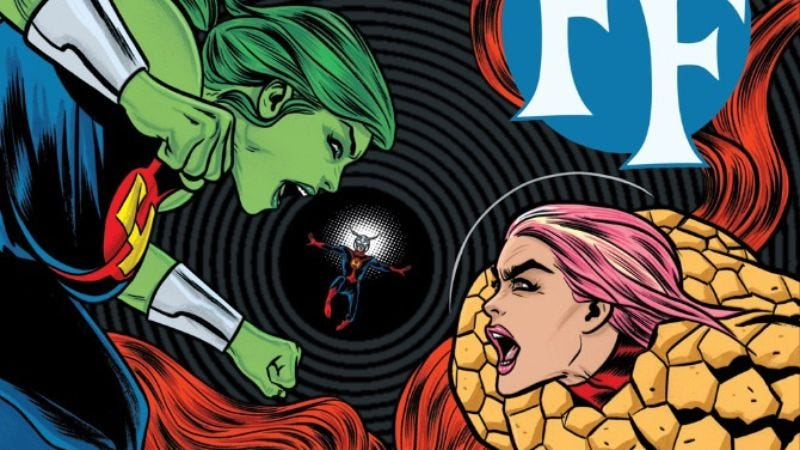Illustration for article titled With Matt Fraction's departure, FF becomes an all-ages Allred family affair