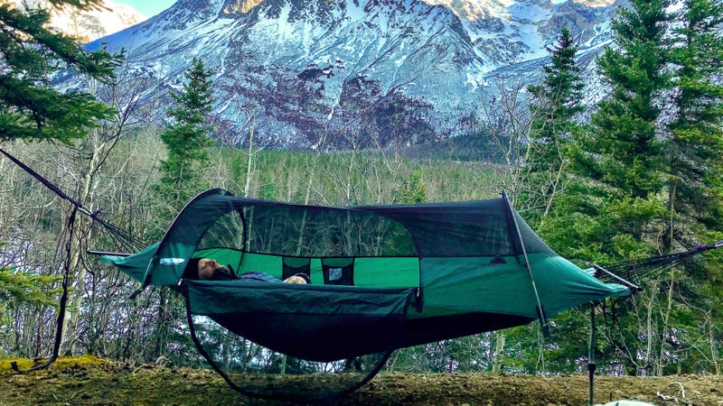Illustration for article titled Save 20% On This Comfortable Bug-Proof Tent-Hammock Hybrid ($185)