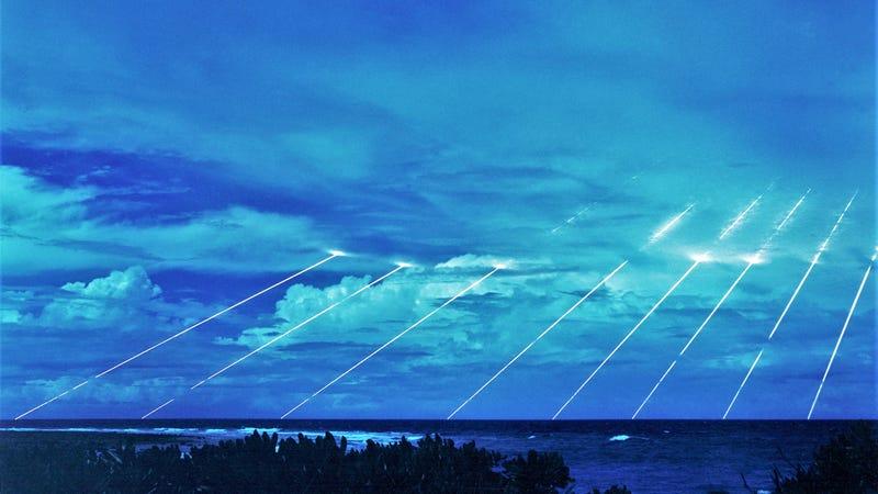 Peacekeeper Missile Defense System. via Wikimedia Commons.
