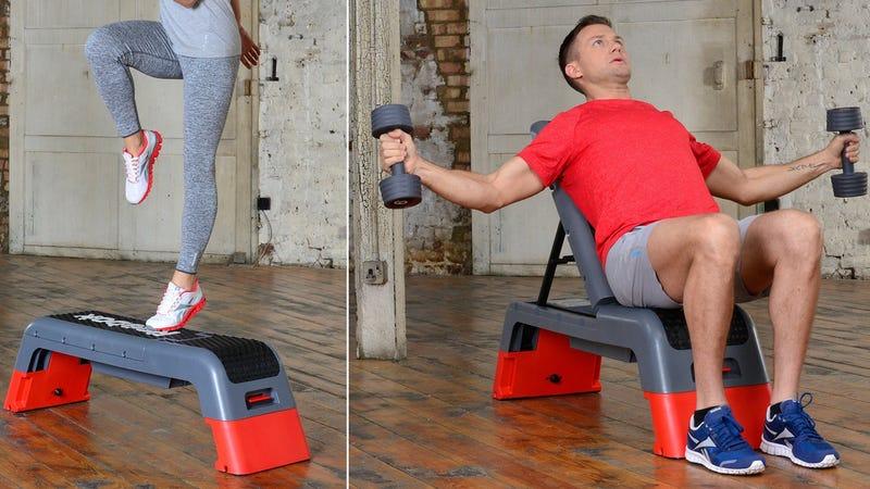Reebok Professional Deck Workout Bench | $122 | Amazon
