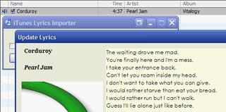 Illustration for article titled iTunes Lyrics Importer Keeps Your Lyrics Database Updated