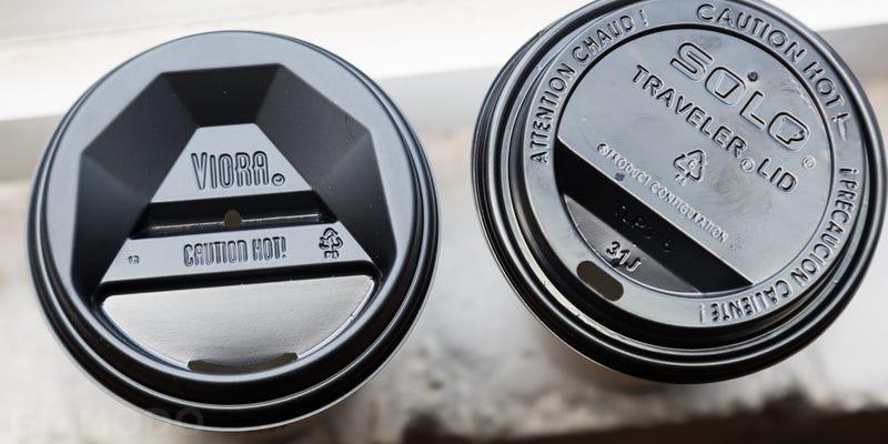 Illustration for article titled We Tried the Disposable Coffee Lid of the Future And It's Actually Great