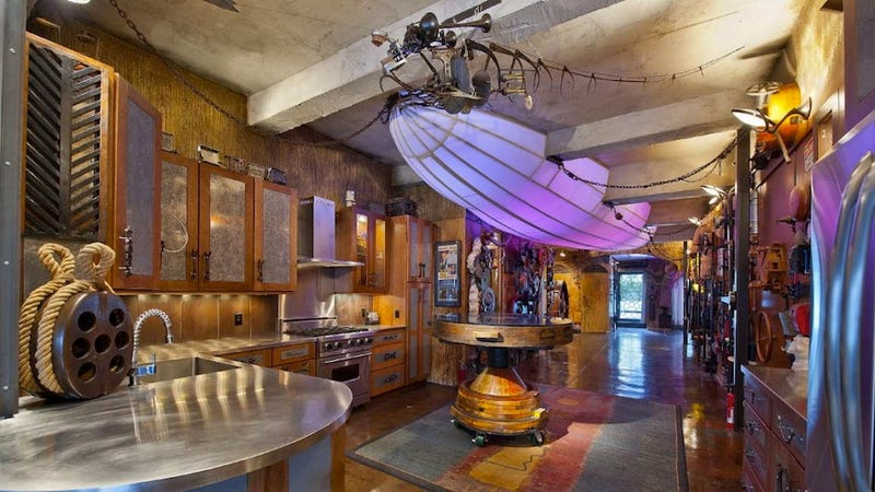 Grand steampunk homes and businesses straight from the alternate past - Alternative uses for household items ...