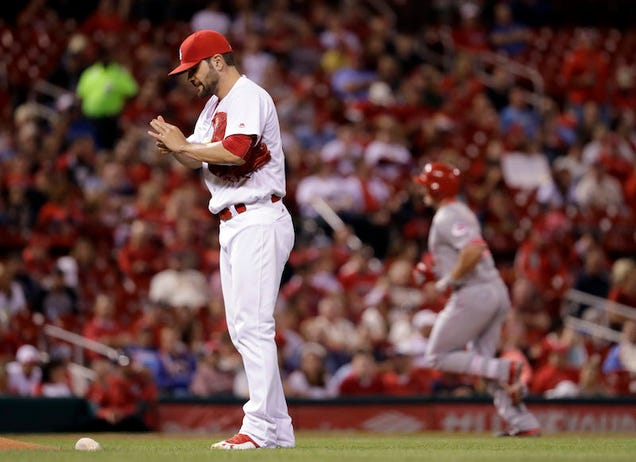 The Cardinals Lost Their 75th Game