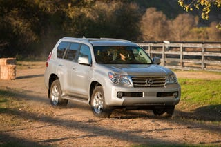 Illustration for article titled 2010 Lexus GX460: The Lexus of 4Runners