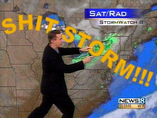 Illustration for article titled Weather Report for Thursday, May 30: