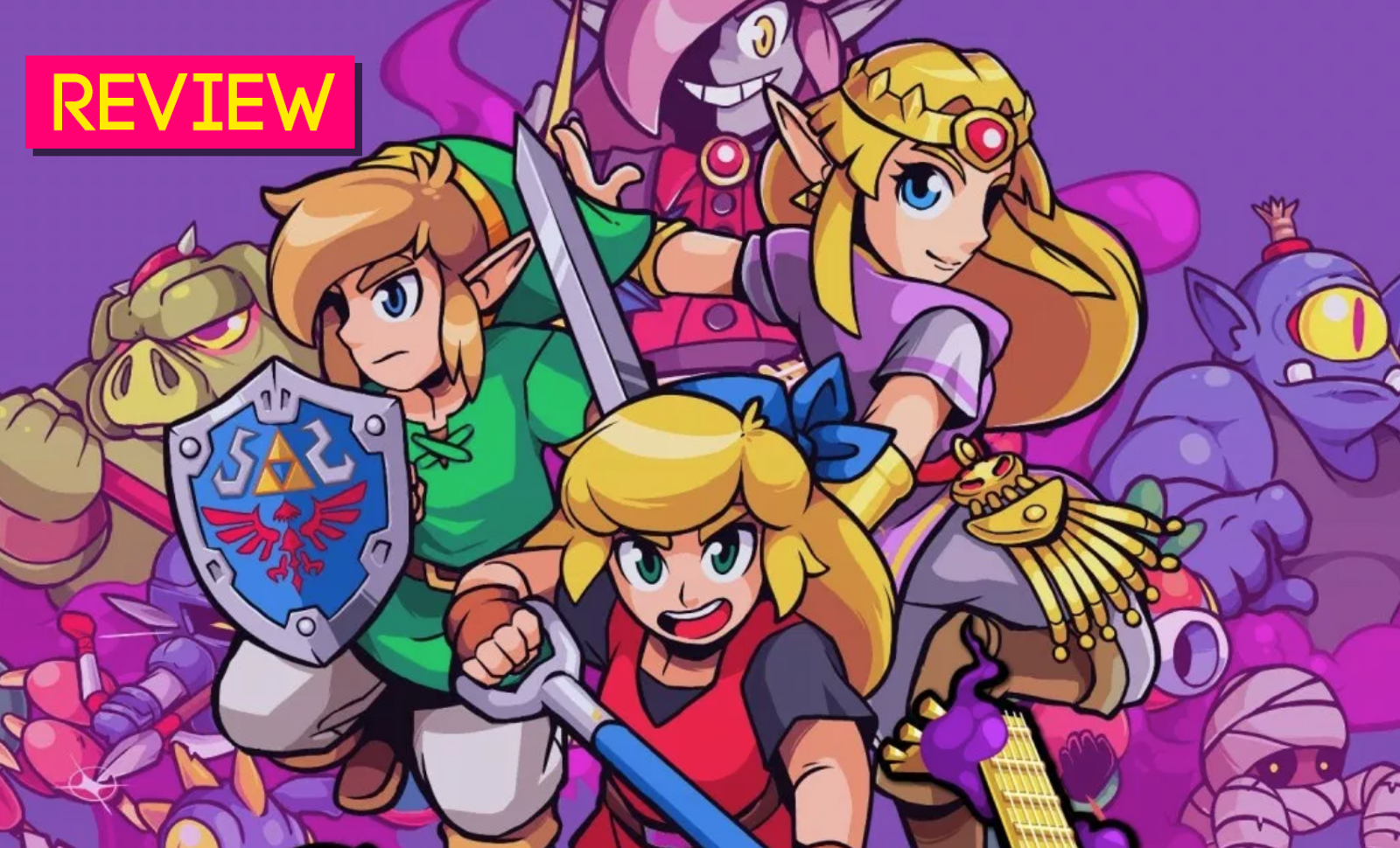 Cadence Of Hyrule: The Kotaku Review