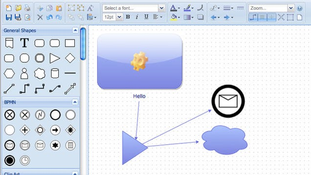 diagramly is a quick online diagram mind map and flow