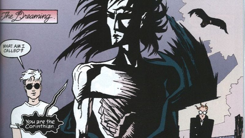 Illustration for article titled The ninth collection of The Sandman sees its hero hounded by vengeance personified