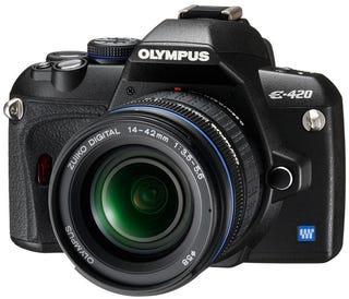 Illustration for article titled Olympus E-420 DSLR: Smaller, Lighter, Cheaper