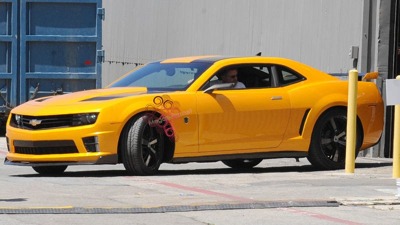 Bumblebee Camaro Gets New Body Kit For Transformers 3