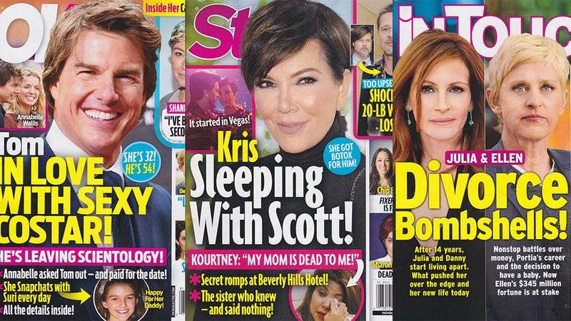 Illustration for article titled This Week In Tabloids: Kris Jenner and Scott Disick Are Doin' It and You Can't Stop Them