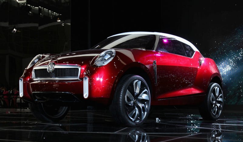 Illustration for article titled MG Roadster SUV Is Further Proof Of Humanity's Decline