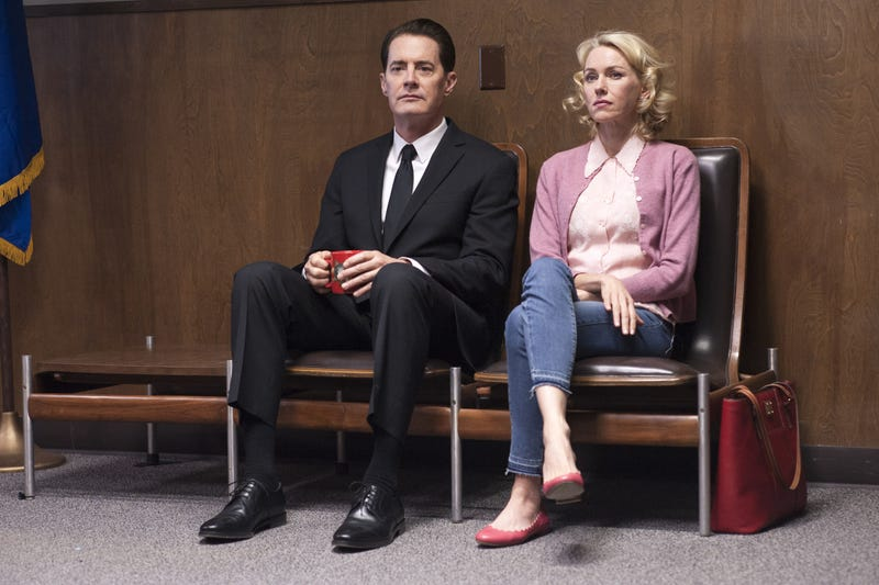 Kyle MacLachlan and Naomi Watts try to figure it all out. (Photo: Suzanne Tenner/Showtime)