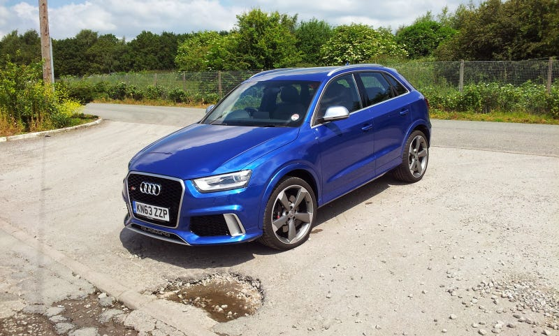 Illustration for article titled Audi RS Q3 Review