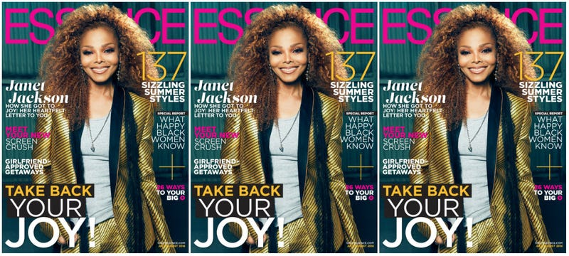 Illustration for article titled Ms. Jackson if You're Happy: Janet Jackson Shares Her Journey to Joy in Essence's Happiness Issue