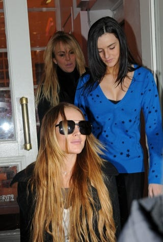 Illustration for article titled Lindsay Leads The Lohans