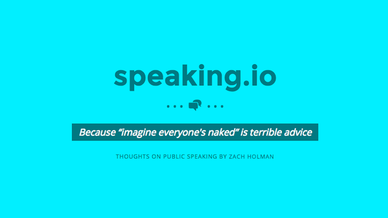 Speaking.io Is a Crash Course in Crafting the Perfect Public Speech