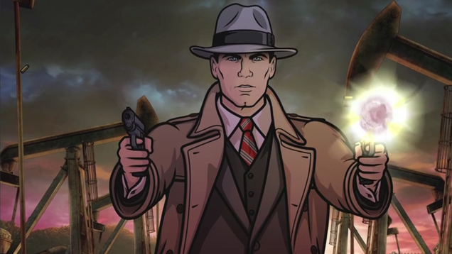 archer goes full on noir in the first trailer for season eight