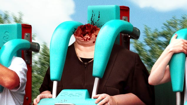 Elena Kagan Decapitated During Rollercoaster Ride