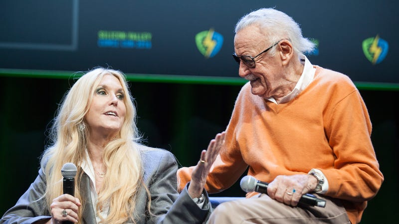 Illustration for article titled Stan Lee's daughter blasts Marvel and Disney for their apparently shabby treatment of her dad