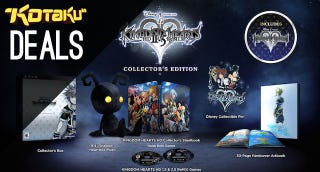 Illustration for article titled Kingdom Hearts Collector's Edition, Sunset Overdrive, and More Deals
