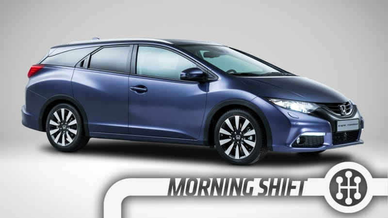 Illustration for article titled Honda's Alluring New Civic Tourer Wagon Isn't For You