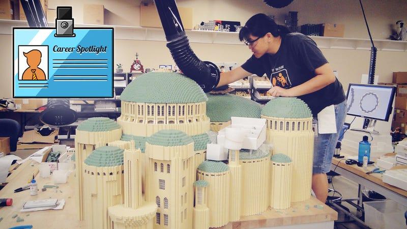 Illustration for article titled Career Spotlight: What I Do as a LEGO Model Designer