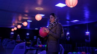 Illustration for article titled Afghan Woman Opens Nation's First Bowling Alley