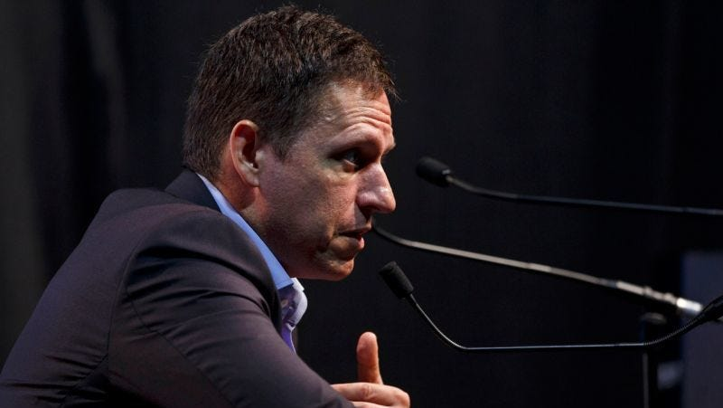 Report: Peter Thiel Is Funding a Totally Shady Offshore Herpes