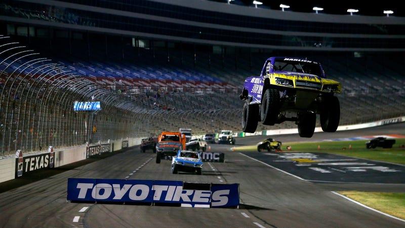 Stadium Super Trucks at Texas Motor Speedway in 2017.