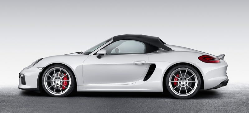 Illustration for article titled Porsche Boxster Spyder GT4? Yes, Please