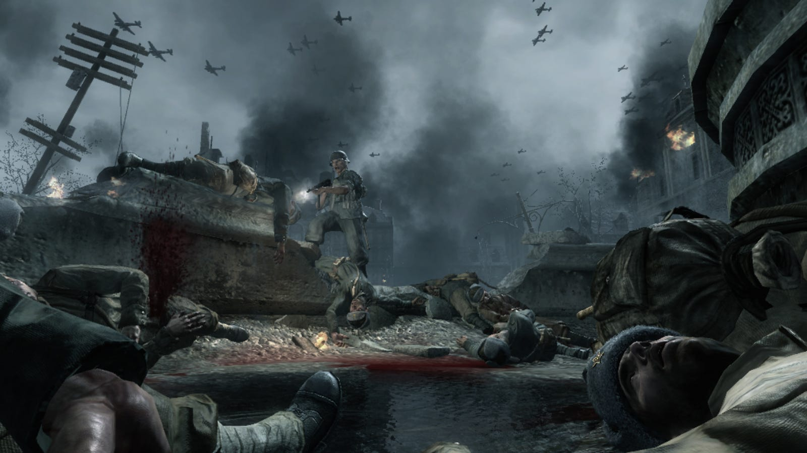 Hackers Aside, Call of Duty: World at War Is Still Gruesome Fun
